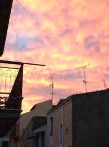 Sunrise, Via Catania